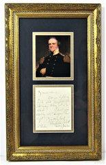 General Winfield Scott Letter