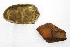 Gettysburg Belt Plate and Shell Fragment