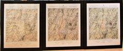 Set of Three John B. Bachelder, 1876 Maps of the Battlefield of Gettysburg