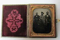 Cavalier Soldier Quarter Plate Tintype