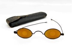 Sharpshooters Glasses with Case