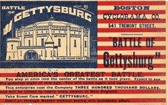 Gettysburg Cyclorama Painting Exhibit Flyer