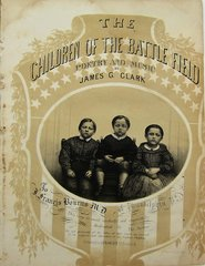 The Children of the Battlefield Sheet Music by James G. Clark
