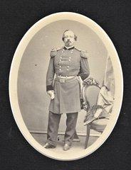 Salt Print of General Henry Davies Wallen