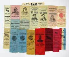 Grouping of New Hampshire GAR Ribbons
