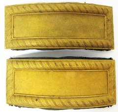 Cavalry 2nd Lieutenant Shoulder Bars