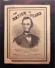 The Nation In Tears In Memoriam, Abraham Lincoln