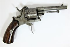 Civil War Pin-Fire Revolver