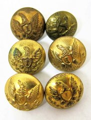 US Infantry Officer's Cuff Buttons