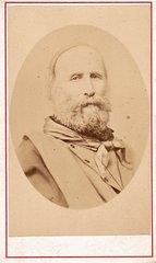 CDV of Giuseppi Garibaldi