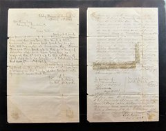 Letter Written From Libby Prison