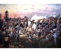 Breymann's Redoubt, Battle of Saratoga By Don Troiani