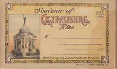 Gettysburg Souvenir Postcards