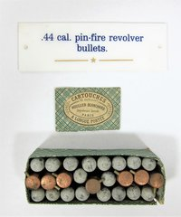 Pin-Fire Revolver Bullets