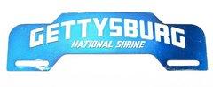 Gettysburg National Shrine License Plate Topper