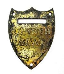 Civil War U.S. Saddle Shield