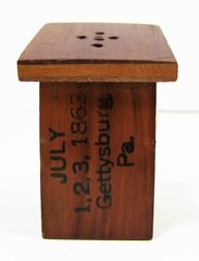 Early Gettysburg Souvenir Salt Shaker