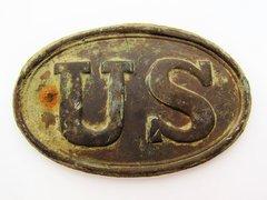 U.S. Cartridge Box Plate Port Husdson