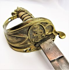 Royal Navy Officer's Sword