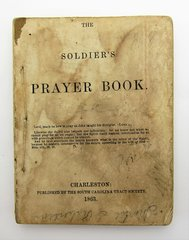 "Confederate Prayer Book Identified to Private George W. Thompson 22nd Virginia Company ""E"""