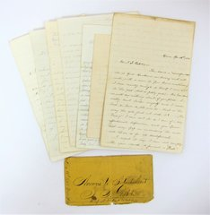 Soldier Seeks a Wife - Unique Letter Grouping Belonging to T. S. Oaktree of Company A, 2nd Regiment Virginia Infantry