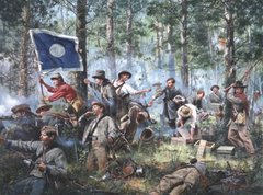 Cleburne At Chickamauga By Don Troiani