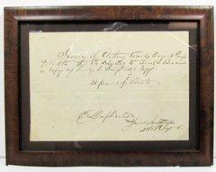James Longstreet Autographed Letter Signed
