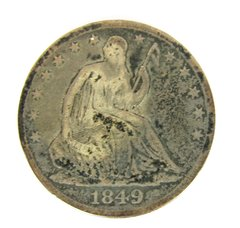 1849 Seated Liberty Half Dollar