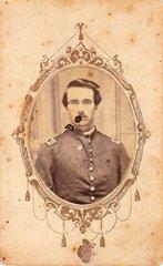 Captain John McKnight Bloss, Company F, 27th Indiana Infantry