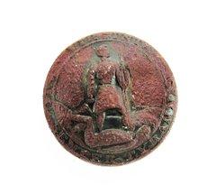 Virginia Button from Gettysburg