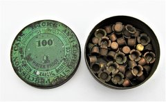 Hick's Percussion Caps Tin