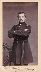 Band Leader David T. Morgan, 1st Regiment PRVC