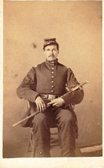 First Lieutenant Thomas Blackburn Rodgers, Company G, 10th Regiment PRVC Captured At Gettysburg