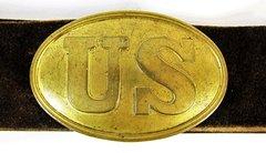 U.S. Belt Plate and Buckle
