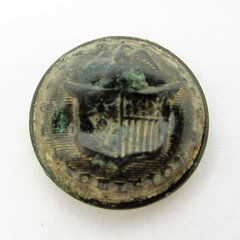 New York State Seal Uniform Coat Button