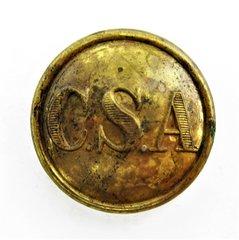 Confederate General Staff Button, CSA