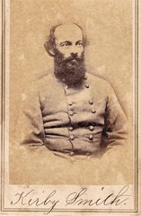 CDV of Confederate General Kirby Smith