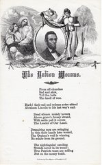 Abraham Lincoln The Nation Mourns Poem