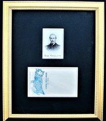 CSA General Beauregard CDV with Ink Inscription and Political Envelope