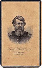 Captain Evans R. Brady, Company K, 11th PRVC, POW, Exchanged