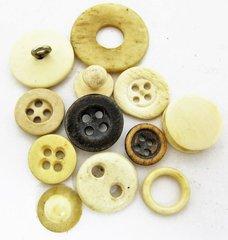 Civil War Era Bone Buttons