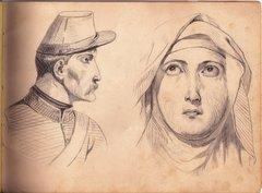 Original Civil War Era Sketch Book