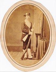 Albumen Photograph of Soldier