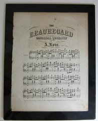 The Beauregard Manassas Quick Step! Sheet Music