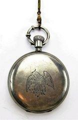 Federal Eagle Key Wind Pocket Watch by L. Perrin