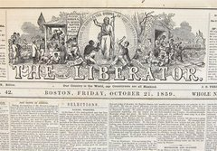The Liberator Featuring John Brown's Raid on Harper's Ferry West Virginia