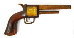 """Gettysburg, Wheatfield"" Wood Pistol"