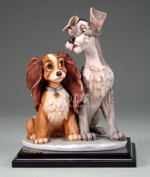 Giuseppe Armani Lady And The Tramp Walt Disney Sogno