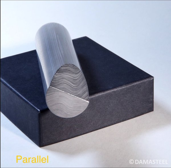 "24mm (.944"") dia x 39"" Damasteel Parallel DS95X"