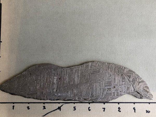 "Seymchan Meteorite. .120"" Thick"